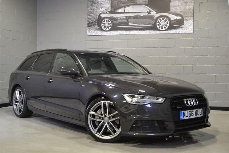 used Audi A6 Avant BiTDI 320 quattro S Line Black Edition. Nav+, Memory seats in buckinghamshire