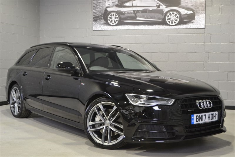 used Audi A6 Avant BiTDI 320 quattro S Line Black Edition. Pan roof, Parking pack, £20k off! in buckinghamshire