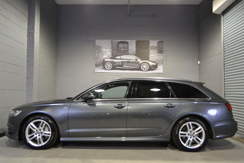 used Audi A6 Avant BiTDI quattro S Line 320PS facelift. Pan Roof, Electric Seats. in buckinghamshire