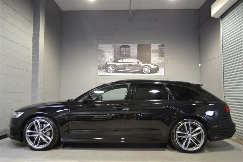 used Audi A6 Avant BiTD 320 quattro S Line Black Edition. Pan roof, Super sport seats in buckinghamshire
