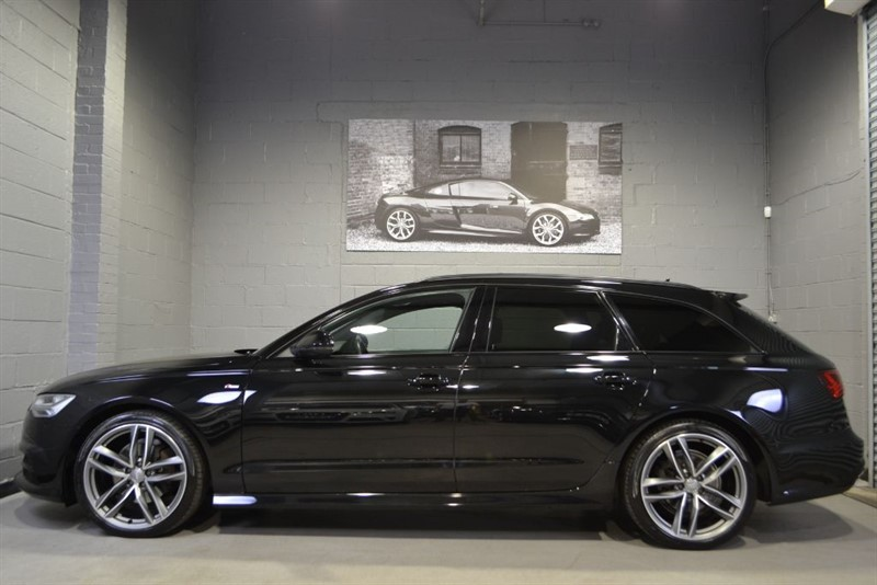used Audi A6 Avant TDI quattro 190 S Line Black Edition. Pan roof Memory seats in buckinghamshire