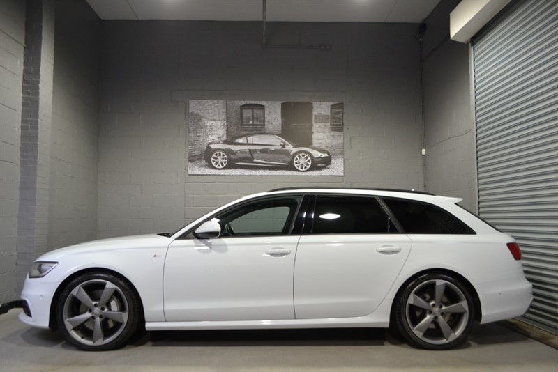 used Audi A6 Avant BiTDI 313 quattro Black Edition. Pan roof & more, monster spec! in buckinghamshire