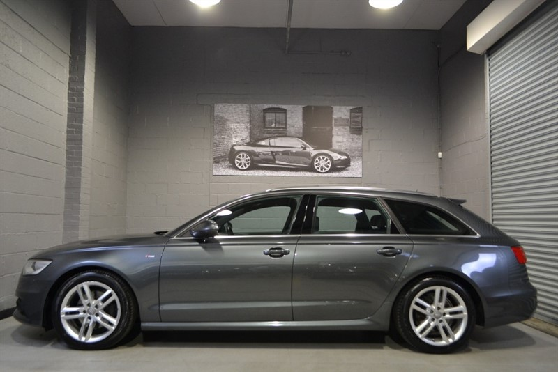 used Audi A6 Avant V6 TDI S Line 204 auto. Rare panoramic sunroof in buckinghamshire