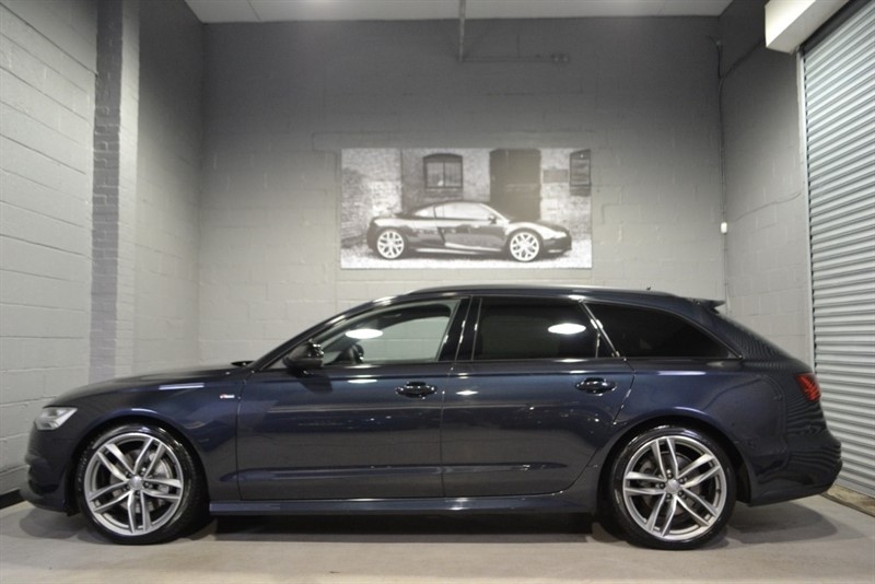 used Audi A6 Avant BiTDI quattro S Line Black Edition 320PS, Technology Pack! in buckinghamshire