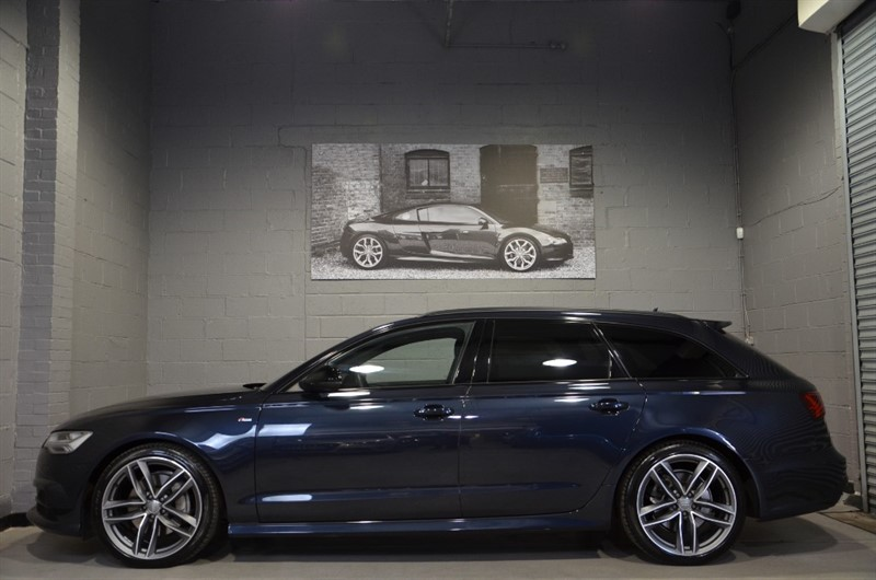 used Audi A6 Avant TDI quattro S Line Black Edition 272PS. Tech pack, Memory seats. in buckinghamshire