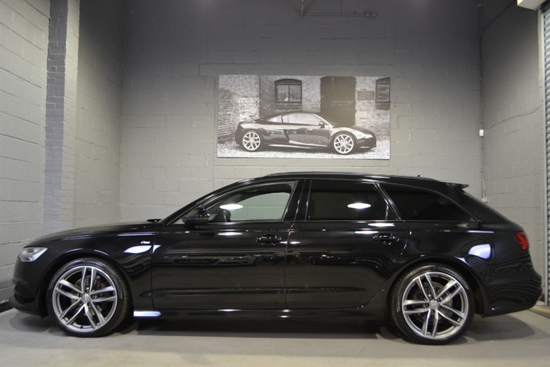 used Audi A6 Avant TDI quattro Black Edition 190PS. Panoramic sunroof, memory seats in buckinghamshire