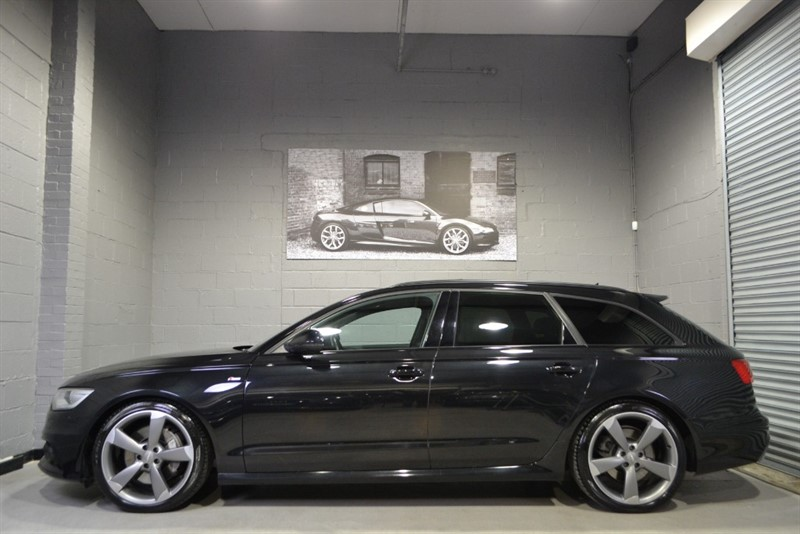 used Audi A6 Avant BiTDI 313 quattro S Line Black Edition. Big spec, adaptive cruise, comprehensive history in buckinghamshire