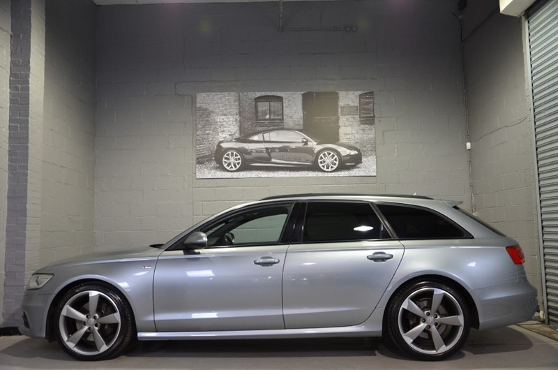 used Audi A6 Avant TDI quattro S Line Black Edition 245PS. Panoramic glass sunroof in buckinghamshire
