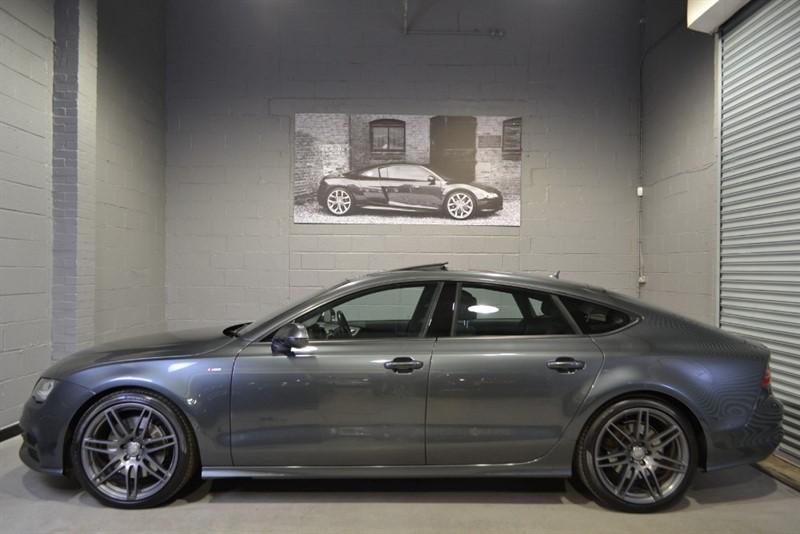 used Audi A7 BiTDI 313 quattro S Line.  Sunroof, Bose, 20s in buckinghamshire