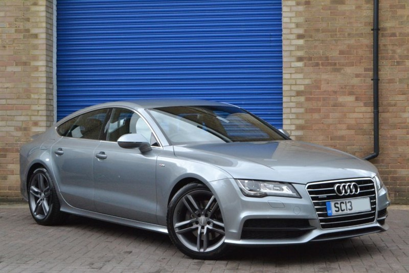 used Audi A7 TDI quattro S Line 245ps. Nav, 19s, Memory seats in buckinghamshire