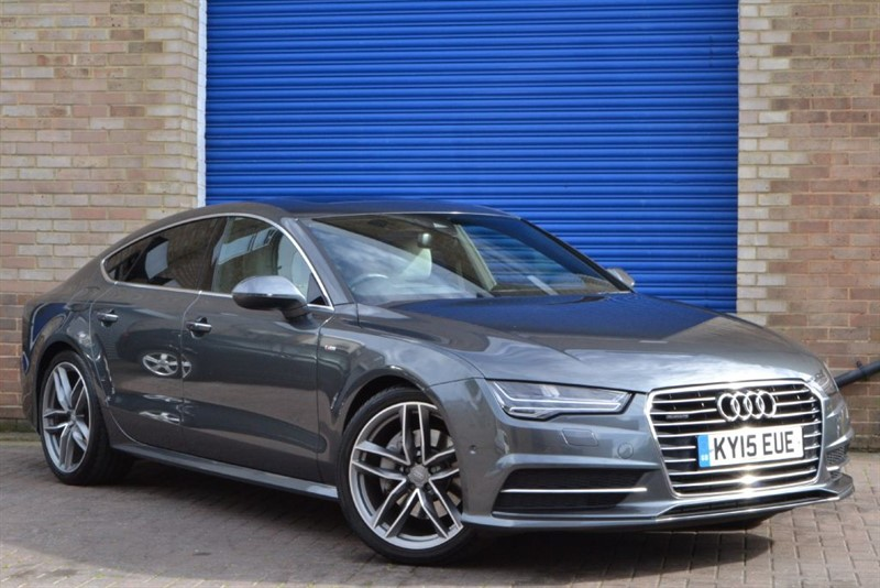 used Audi A7 Sportback TDI quattro S Line 272. Sunroof, LED Matrix, Head up display in buckinghamshire