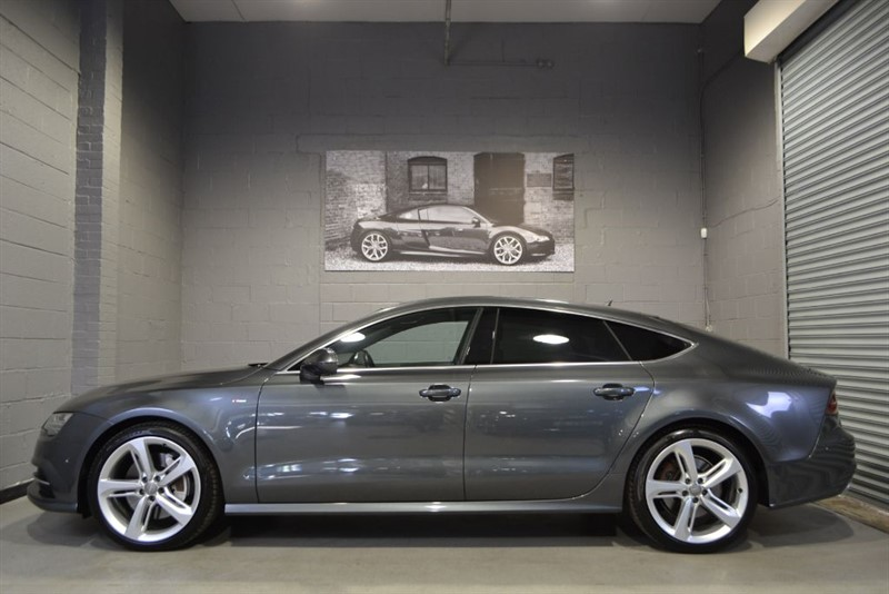 used Audi A7 BiTDI 320 quattro S Line Facelift. Nav+ Bose HUD in buckinghamshire