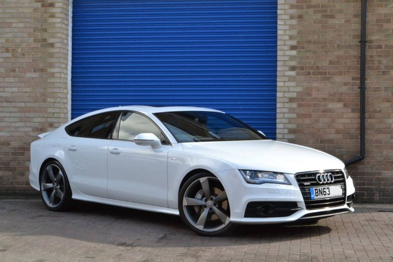 used Audi A7 TFSI quattro S Line Black Edition. Rare petrol V6. Sunroof, Assistance pack in buckinghamshire