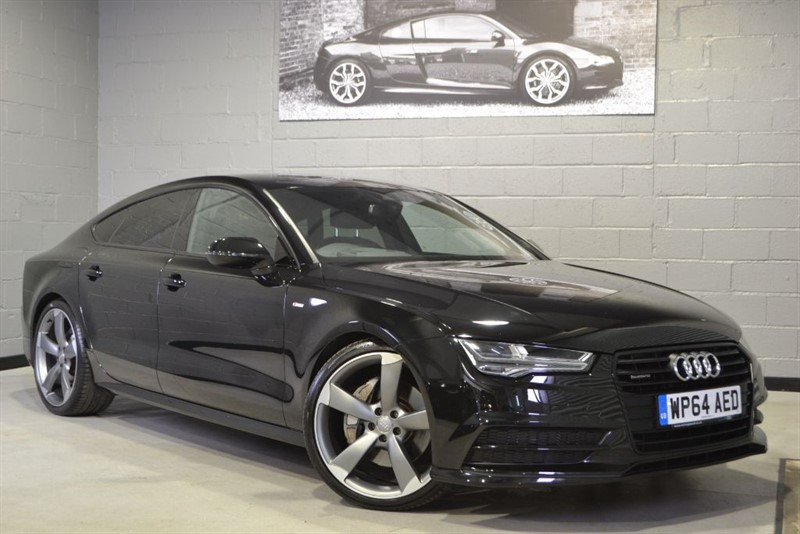 used Audi A7 TFSI quattro Black Edition 333PS. Rare V6 supercharged petrol in buckinghamshire