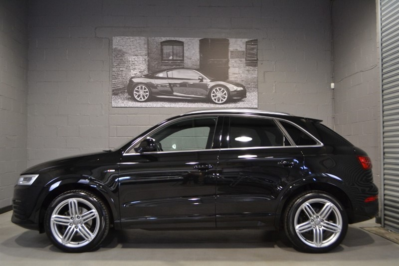 used Audi Q3 TFSI quattro S Line Plus (180PS) S Tronic, Panoramic Sunroof, Full Leather! in buckinghamshire
