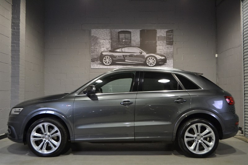 used Audi Q3 TDI quattro 177 PS S Line, Pan Roof, Full Leather Electric Seats, Nav +,Bose! in buckinghamshire