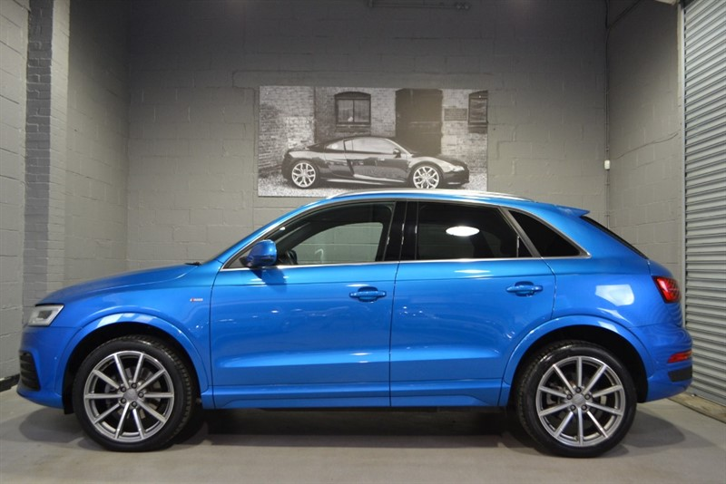 used Audi Q3 TFSI quattro S Line Plus 180. Heated, electric, full leather seats! in buckinghamshire