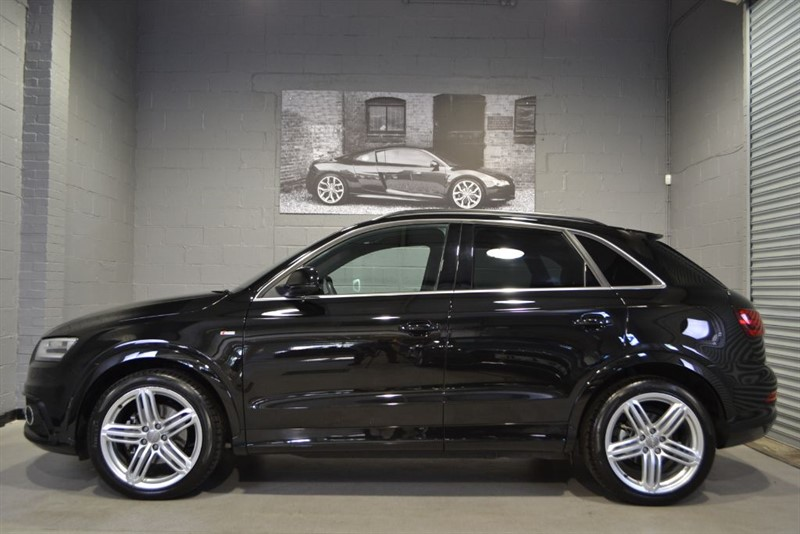 used Audi Q3 TFSI quattro 170 S Line Plus. Pan roof 19s Electric seats in buckinghamshire