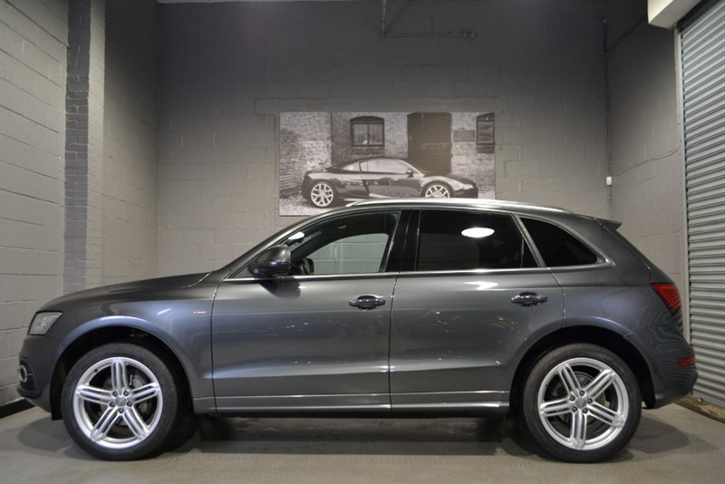 used Audi Q5 TFSI quattro S Line+ Plus. Sunroof & Memory seats. Great spec! in buckinghamshire