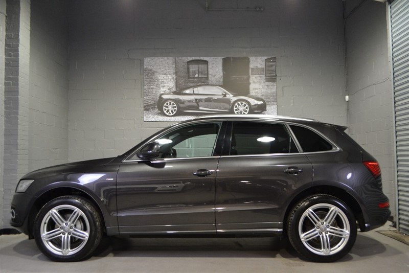 used Audi Q5 TFSI quattro S Line+ Plus 225. Nav+, Heated leather, 20s in buckinghamshire