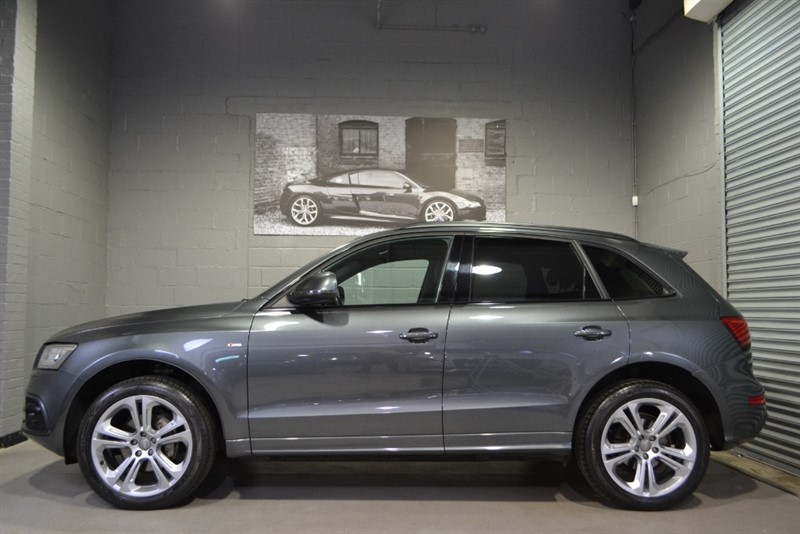 used Audi Q5 TDI quattro 177 S Line Plus. Monster spec; sunroof & Exclusive leather in buckinghamshire
