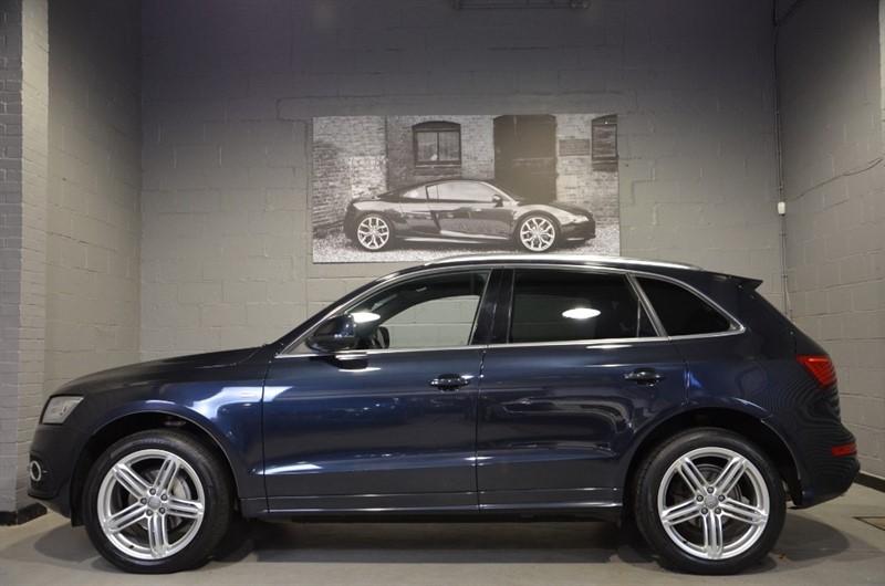 used Audi Q5 TFSI quattro S Line Plus 225PS. Super value petrol auto in buckinghamshire