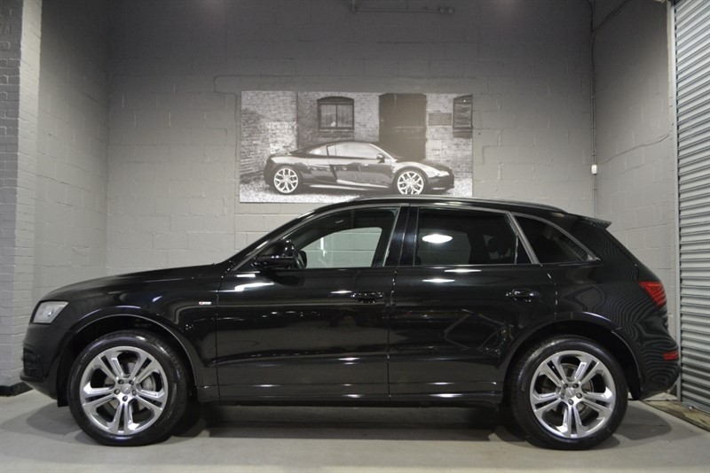 used Audi Q5 TDI quattro S Line Plus 177. Huge spec with sunroof! in buckinghamshire