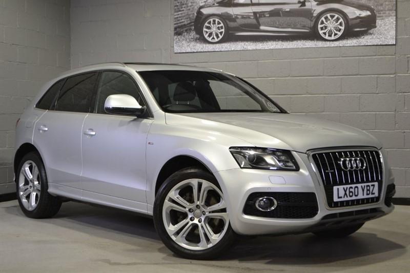 used Audi Q5 TDI quattro 240 V6 S Line Special Edition. Sunroof, Camera, B&O. in buckinghamshire
