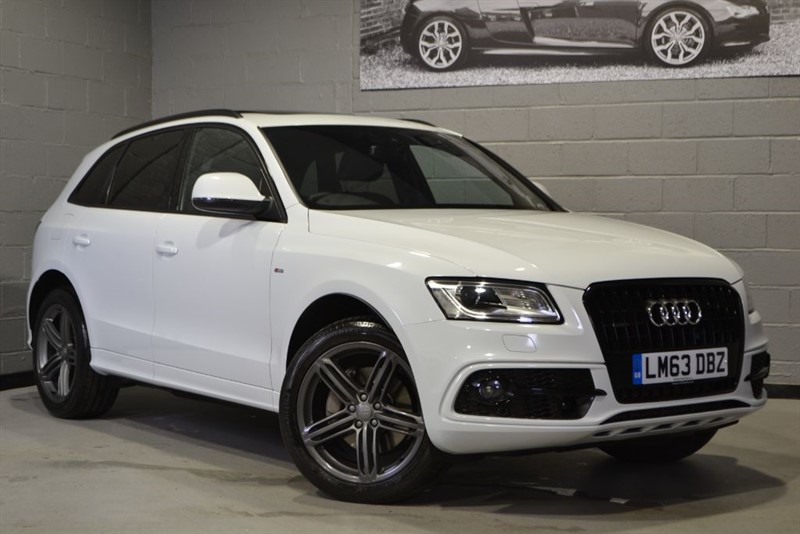 used Audi Q5 TDI quattro 245 S Line Plus. Pan roof B&O Camera & more! in buckinghamshire