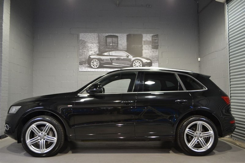 used Audi Q5 TDI quattro 245 S Line Plus. Pan roof, Bang and Olufsen, Memory seats in buckinghamshire