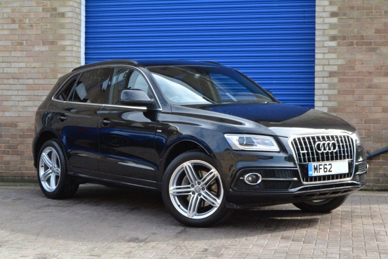 used Audi Q5 TFSI quattro S Line Plus. Ultra rare V6 supercharged petrol. VAT Q in buckinghamshire