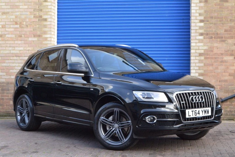 used Audi Q5 TFSI quattro 225PS S LINE PLUS, MMI Sat Nav, One private Owner. in buckinghamshire