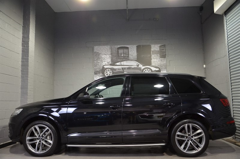 used Audi Q7 TDI quattro S Line 272PS. Panoramic sunroof & Virtual cockpit in buckinghamshire
