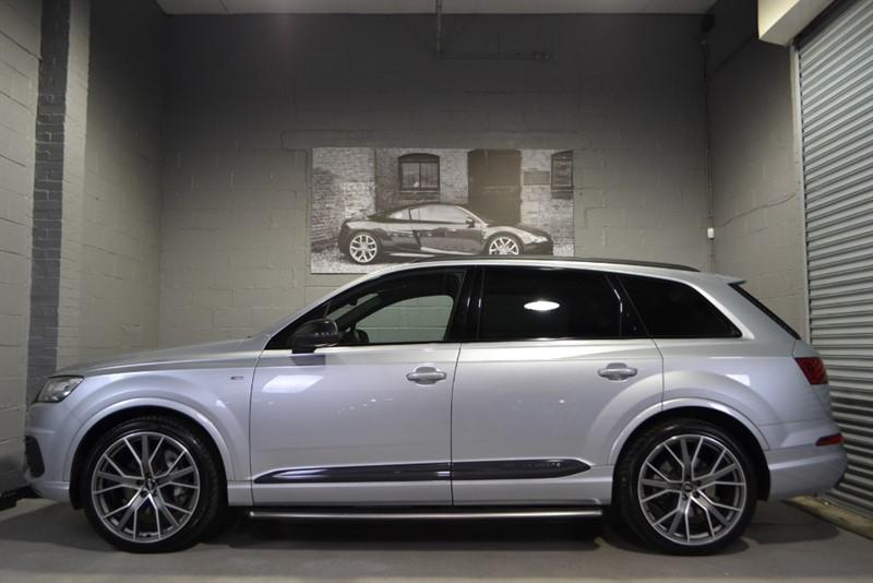 used Audi Q7 TDI quattro S Line 272PS. Monster spec & SQ7 styling in buckinghamshire