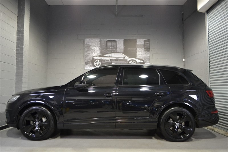 used Audi Q7 TDI quattro S Line 272PS. Monster spec, over £16000 in options in buckinghamshire