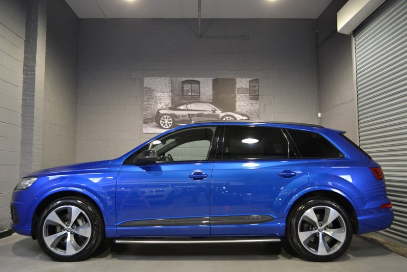 used Audi Q7 TDI quattro S Line 272. Bose, Sunroof, Camera, 21s in buckinghamshire
