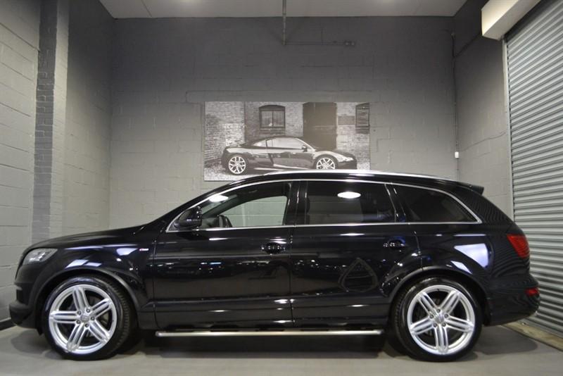 used Audi Q7 TDI quattro S Line Plus. 21s, Camera, DAB in buckinghamshire
