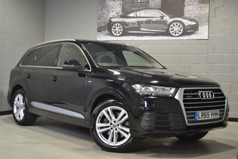 used Audi Q7 TDI quattro S Line 272PS. Sunroof, Virtual cockpit, Bose in buckinghamshire