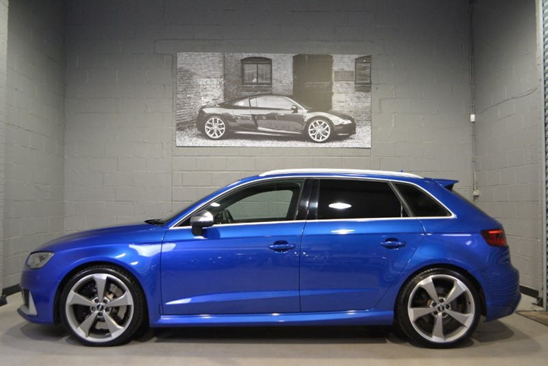 used Audi RS3 Sportback TFSI quattro 367PS. Magnetic ride, Bang & Olufsen in buckinghamshire