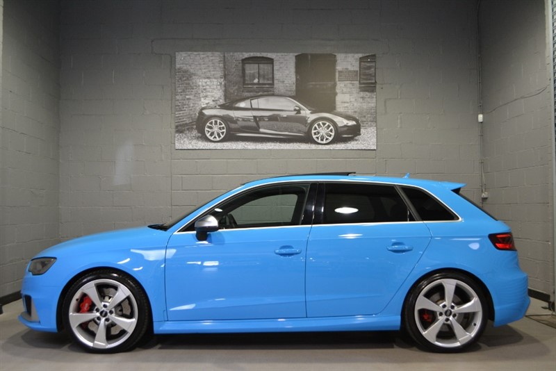 used Audi RS3 Sportback TFSI quattro 367PS. Exclusive Porsche Riviera blue! in buckinghamshire