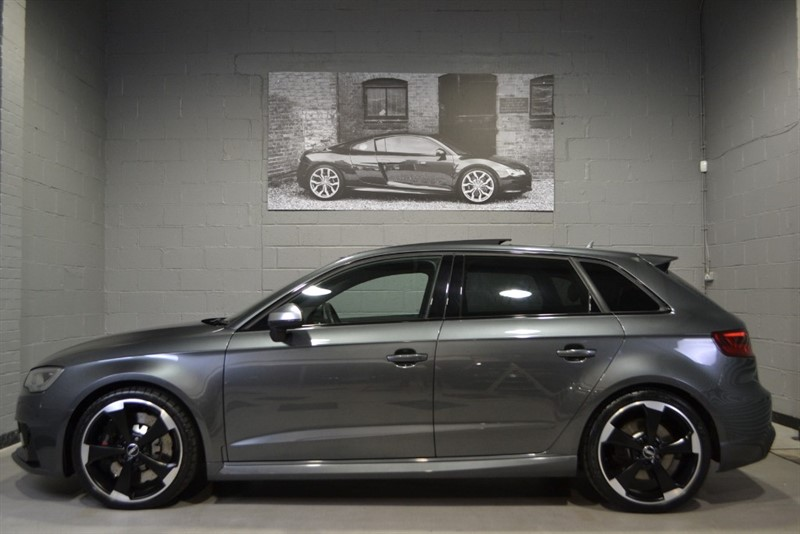 used Audi RS3 Sportback TFSI quattro 367PS. Monster specification, flawless condition in buckinghamshire