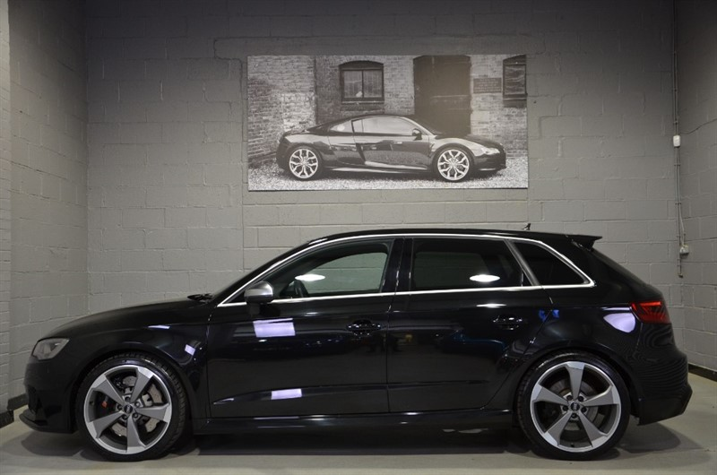 used Audi RS3 Sportback TFSI quattro 367PS. Dynamic pack, Bang & Olufsen in buckinghamshire