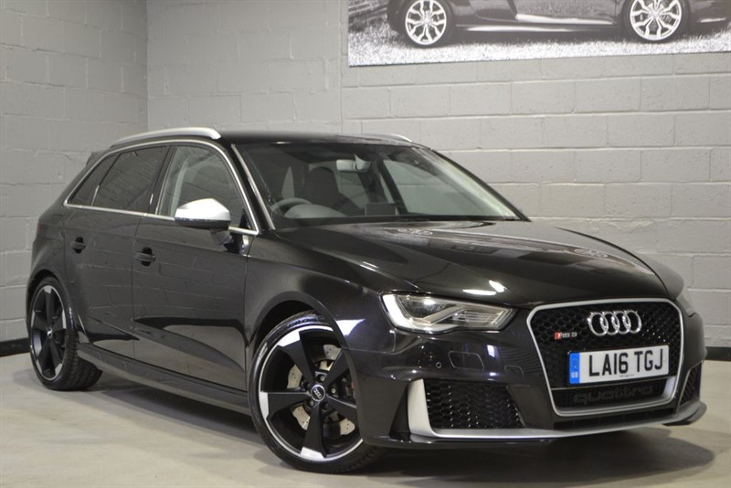 used Audi RS3 TFSI quattro 367PS. Dynamic pack, Super Sport seats & more! in buckinghamshire