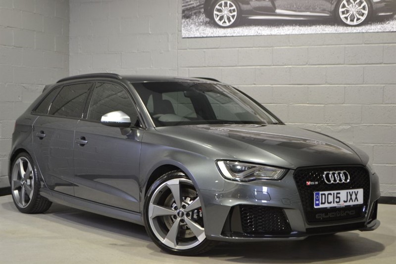 used Audi RS3 TFSI quattro 367PS. Dynamic pack, Super sport, 5 year warranty in buckinghamshire