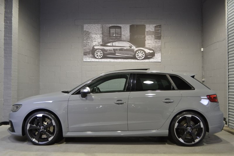 used Audi RS3 TFSI quattro. High specification cars wanted for stock in buckinghamshire