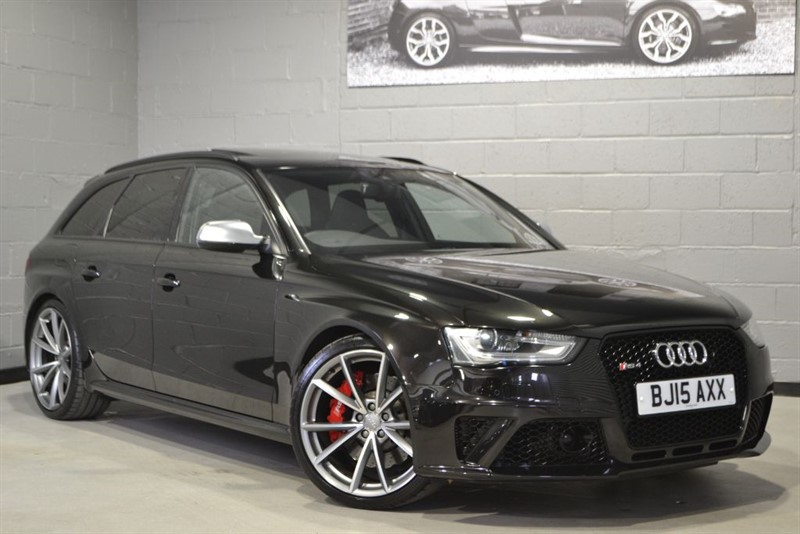 used Audi RS4 Avant FSI quattro 450PS. High specification cars wanted for stock in buckinghamshire