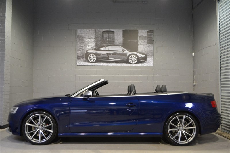 used Audi RS5 Cabriolet FSI quattro 450PS. 20s, Camera, Sport pack in buckinghamshire
