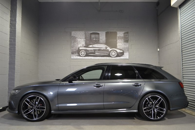 used Audi RS6 Avant TFSI quattro 560PS. Pan roof, 21s, Sport exhaust in buckinghamshire