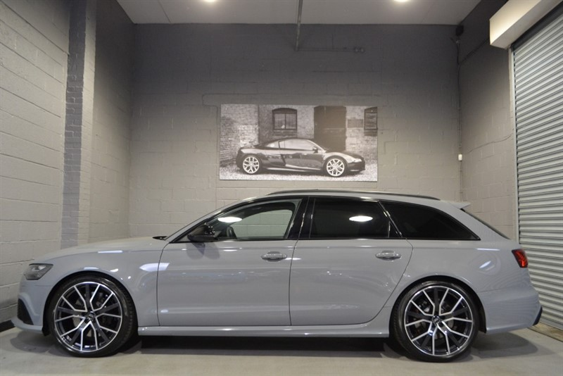 used Audi RS6 Avant Performance TFSI quattro 605PS. Rare Nardo grey, Panoramic sunroof in buckinghamshire