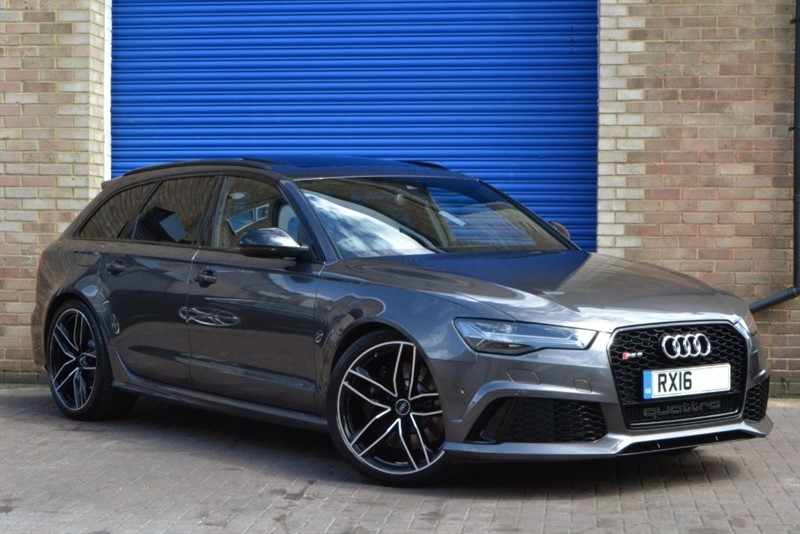 used Audi RS6 Avant TFSI quattro 560PS. Exclusive paint, Pan roof, Dynamic pack, 21s in buckinghamshire